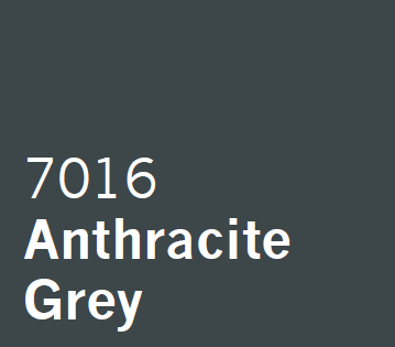 UPVC Spray Coating Anthracite Grey 7016