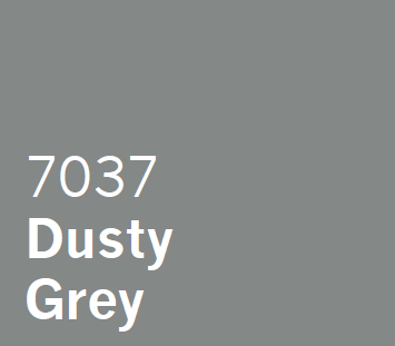 UPVC Spray Coating Dusty Grey 7037