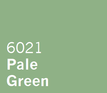 UPVC Spray Coating Pale Green 6021